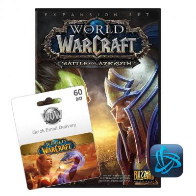 Blizzard Entertainment World of Warcraft, 60 dní Game Time